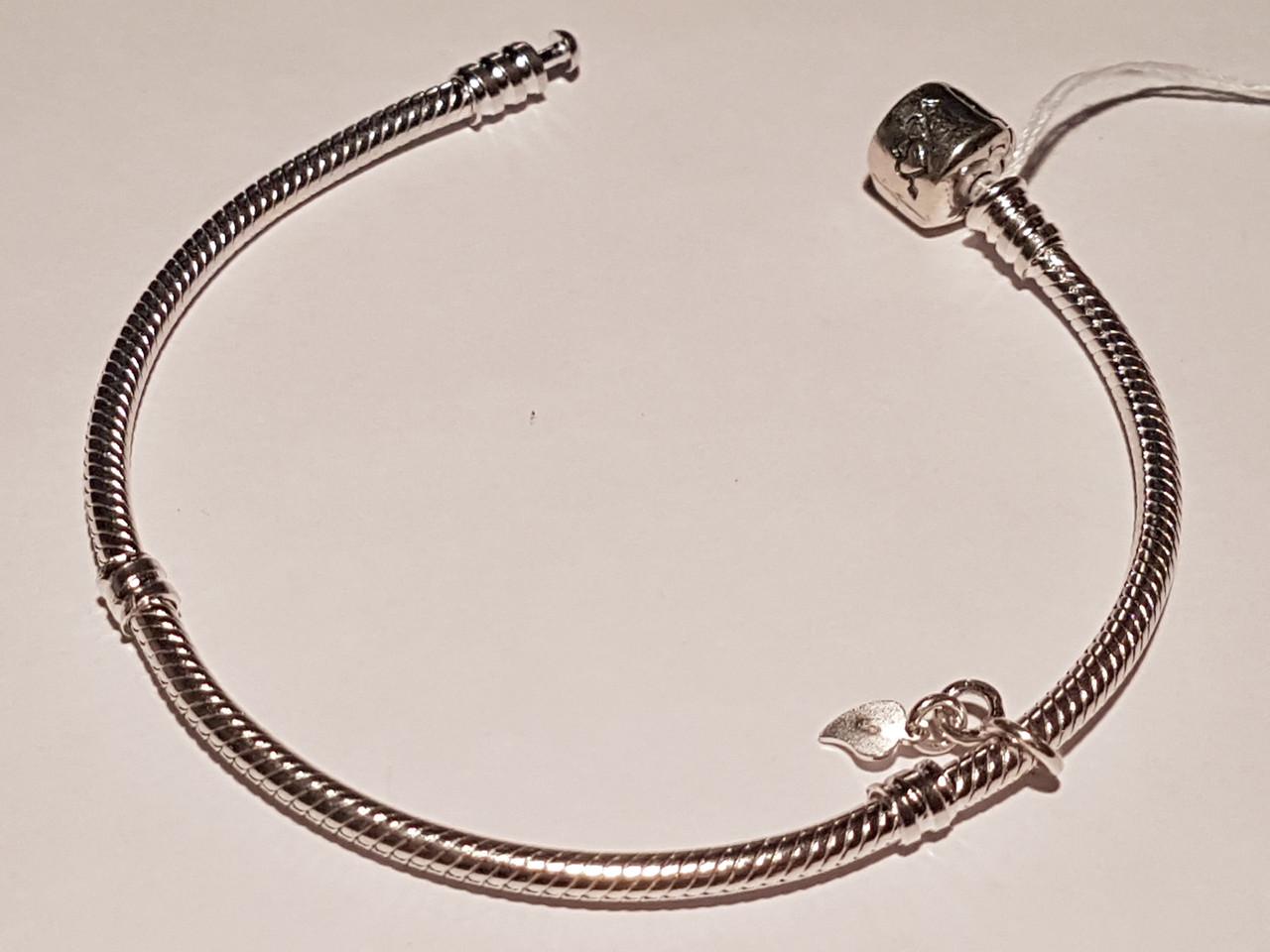 Срібний браслет-основа для шармов 701/19