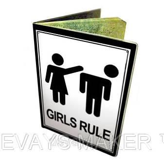 Обложка для паспорта Девушки Рулят, фото 2