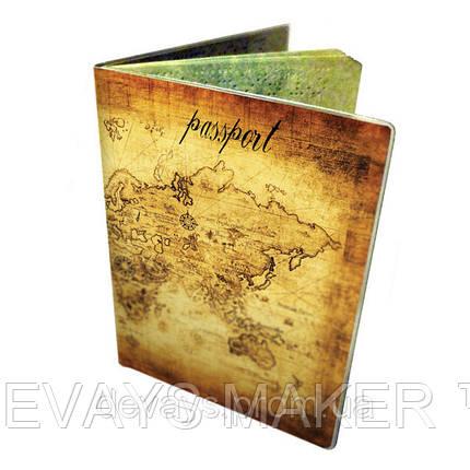 Обложка для паспорта Карта, фото 2