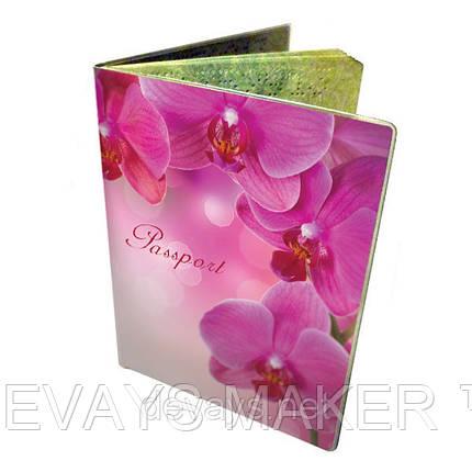 Обложка на паспорт Орхидеи, фото 2
