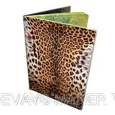 Обложка для паспорта Леопард