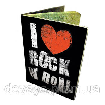 Обложка для паспорта Я люблю Рок Энд Ролл, фото 2