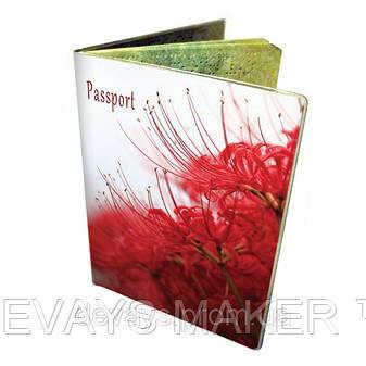 Обложка для паспорта Алая экзотика, фото 2