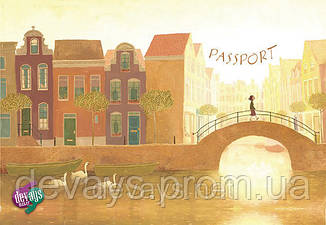 Обложка для паспорта Прогулка, фото 2