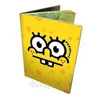 Обложка для паспорта Спанч Боб