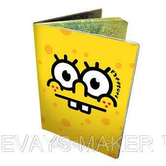 Обложка для паспорта Спанч Боб, фото 2