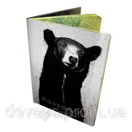 Обложка для паспорта Мишка, фото 2