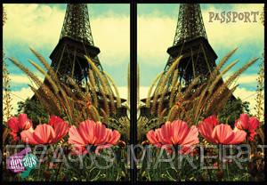 Обложка для паспорта Башня Любви, фото 2