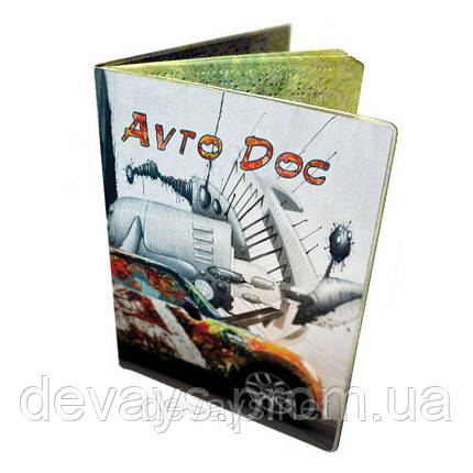 Обложка для водительских документов Мини, фото 2