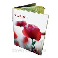 Обложка для паспорта Маковый сон