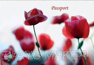 Обложка для паспорта Маковый сон, фото 2