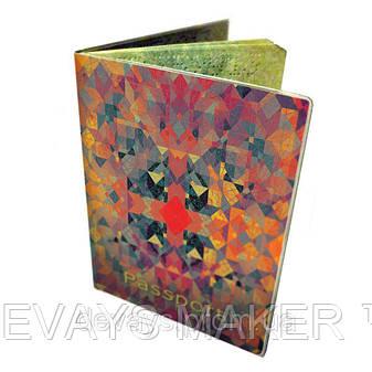 """Обложка на паспорт """"Калейдоскоп"""", фото 2"""