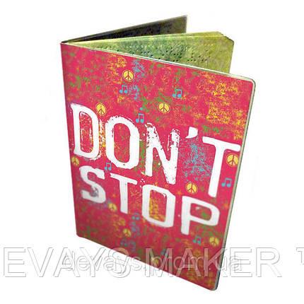 Обложка для автодокументов  Don't Stop, фото 2