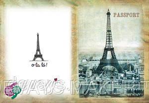 Обложка для паспорта Ах Париж!, фото 2