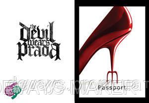 Обложка для паспорта Дьявол носит Прада, фото 2