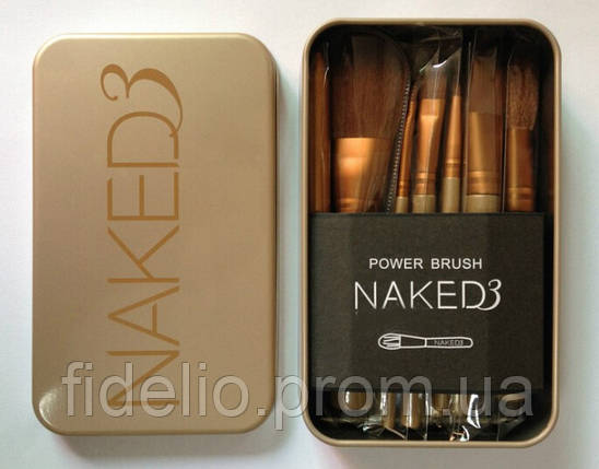 Набор кистей Naked 3 (12 шт), фото 2