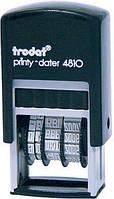 Минидатер, высота букв 3,8 мм, пластиковый, украинский язык, Trodat 4810,  570029