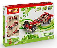 Конструктор Машины, 3 модели с электродвигателем, серия Eco Builds, Engino