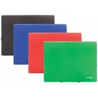 Папка на резинке B5, цвет ассорти, Economix, 31602