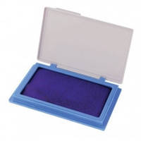 Подушка штемпельная, 7*11 см, синяя, Economix, 4210102