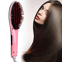 Электрическая расческа-выпрямитель без монитора FAST HAIR STRAIGHTENER HQT-906, выпрямитель волос