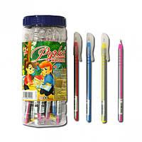 """Ручка шариковая, синяя, 0,6 мм, """"Silver"""", 1Вересня, 410952"""