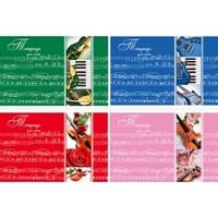 Тетрадь для нот, А5, мягкая обложка, скоба, 10 листов, Полиграфист, Н10-967, 921391