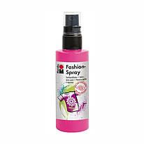 Краска-спрей для ткани, розовая 033, 100 мл, Marabu, 171950033