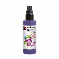 Краска-спрей для ткани, фиолетовая 037, 100 мл, Marabu, 171950037