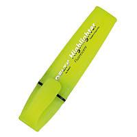 Маркер текстовый клиновидный, 2-4 мм, желтый, Highlighter, Delta by Axent, D2502-08, 27966