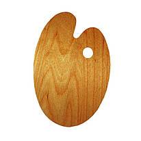Палитра деревянная, промаслянная, овальная, 30*40 см, ROSA Gallery, 94164103