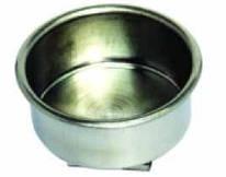 Масленка одинарная, металлическая, Д: 4 см, D.K.Art&Craft, 11014