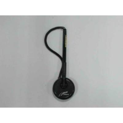 Ручка гелевая, 0,5 мм, черная, на подставке, Techjob, TIZO Nano, TG3391, 538398