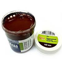 Краска гуашевая коричневая темная 40 мл Rosa Studio, 323913