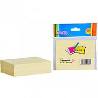 Блок бумаги для записей с клейким слоем, 76*101 мм, 100 листов, JinXin, 900589