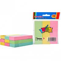 Блок бумаги для записей с клейким слоем, 25*76 мм, 300 листов, JinXin, 900060