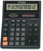 Калькулятор, 12 разрядов, Citizen, SDC-888TII, 702798