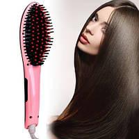 Расческа-выпрямитель fast hair straightener, расческа-выпрямитель fast hair с LED дисплеем