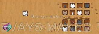 Обложка для ученического Коробка с котятами, фото 2