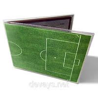 Обложка для ученического Футбольное поле