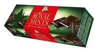 Черный шоколад  с мятной начинкой  Royal mints , 300 гр