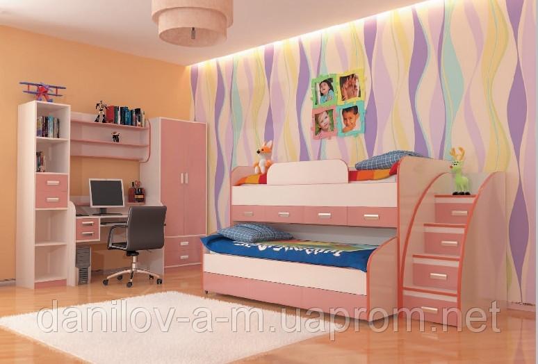 """Мебель для детской комнаты """"Детский мир"""""""
