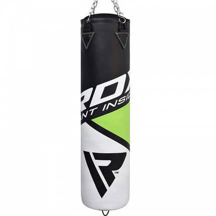 Боксерский мешок RDX Rex Leather Green 1.5 м, 45-55 кг, фото 2