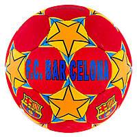 Мяч футбольный Grippy G-14 FC Barcelona-2 red/yellow