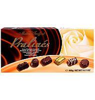 Шоколадные конфеты в коробке Maitre Truffout Assorted Pralines с пралине, 400 гр.