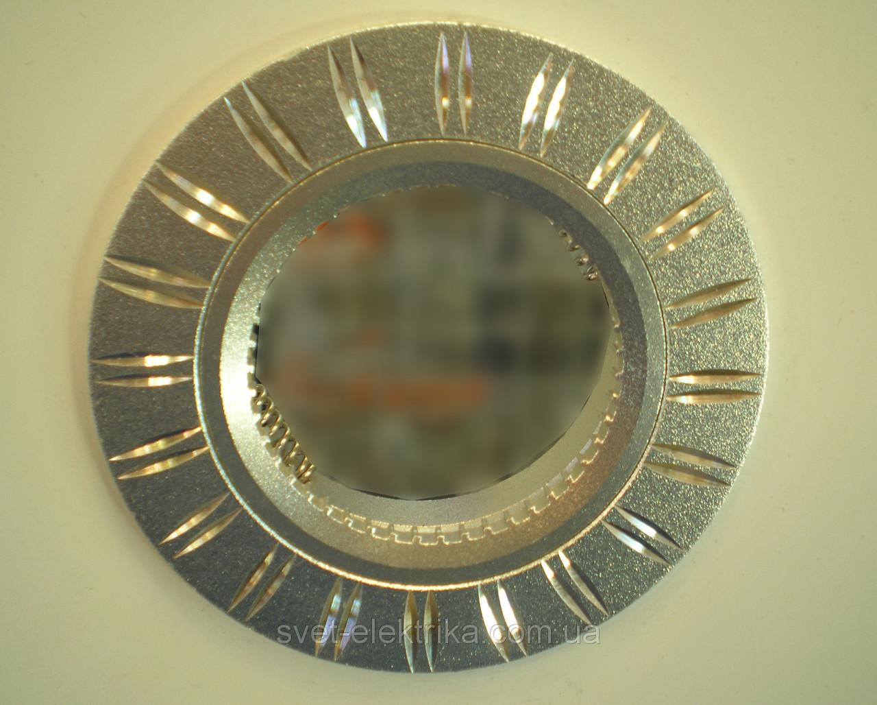 Точечный неповоротный светильник Feron GS-M393MR16(белый, золото, серебро, чёрный)