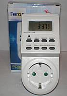 Недельная розетка-таймер с электронным управлением Feron TM22   61925
