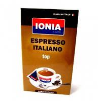 Кофе молотый ionia espresso italiano top 250 гр