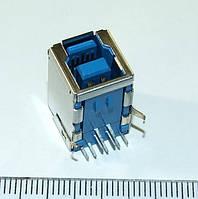 P002 USB 3.0 разъем B Type 9 pin  для принтера, сканера, МФУ, копировального аппарата
