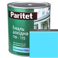 Краска эмали ТМ Paritet алкидная ПФ-115 0,9 кг голубая